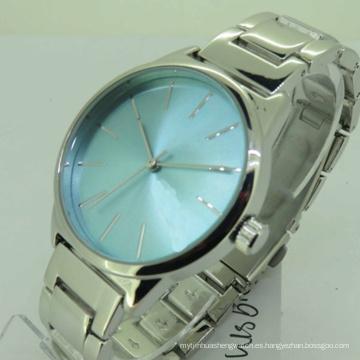 Reloj de cuarzo resistente al agua de mujer astilla de moda