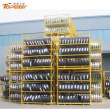 oem odm heavy duty stacking tire storage rack