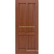 4- panel mahogany hardwood door design