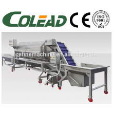 Batata lavagem peeling máquina / cenoura peeling máquina / haste peeling vegetal máquina / peeling máquina
