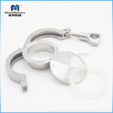 Санитарная нержавеющая сталь 304 / 316L Tri-Clamp Clamp Трубопроводный фитинг