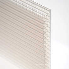 Polycarbonate Sheet for Decoration Skylight 10 Years Warranty Different Colors