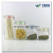 250-1000 мл хранения продуктов в герметичный стеклянный кувшин
