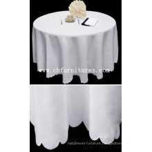 Purable White Table Cloth for Banquet Table (YC-BC23)