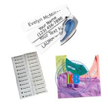 школьные принадлежности струйной термотрансферной печати пользовательские метки железо на этикетке название бренда школьная форма