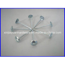 Galvanized Umbrella Head Roofing Nail with Washer