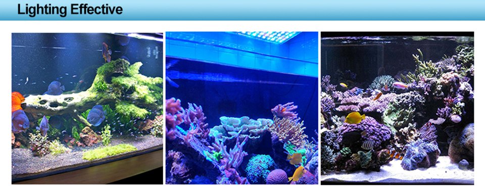 165W Aquarium Lighting Led Dimmer Timer