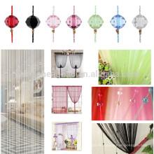 China-Lieferant Weihnachtsgeschenk handgemachter Korndekor-Schnurvorhang