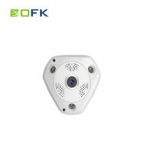VR-камера 1,3-мегапиксельная беспроводная 360 градусов IP-камера Fish Eye P2P Мобильное приложение ИК-вырезать