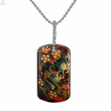 Most Popular Silver Skull Totem Necklace Pendant Jewelry