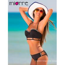 Miorre Women Swimwear Push-Up Bikini Set