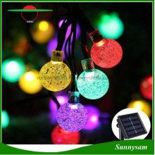 30LED Solar hängende dekorative Kugeln Licht wasserdicht Outdoor Garten Baum Fairy Solar Licht