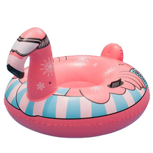 Swimming Pool Inflatable Floating Raft Flamingo Unique Decoration Bachelorette Party Swimming Pool Swimming Ring