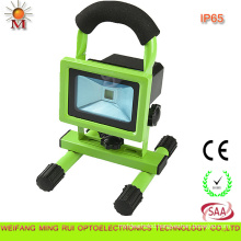 Top Quality High Efficiency Portable Rechargeable LED Flood Light 10W