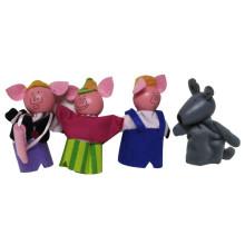 Spiel Puppen Kinder Hölzerne Tierfigur