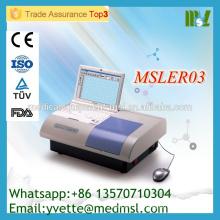 MSLER03M Lecteur de microplaques de prix de gros pour ELISA Elisa Microplate Reader avec 10,4 pouces LCD couleur