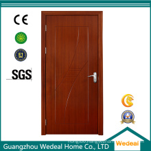 PVC Bathroom Wood Twin Door for Project