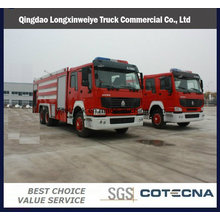Carro de rescate de incendios HOWO para emergencias