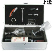 New arrival!!aluminum gift boxes for wine glasses manufacturer