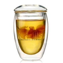 Double Wall Glass Cup / Tea Pot 350ml