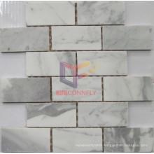 Carrara White Big Chip Marble Mosaic (CFS960)