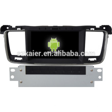 Android 4.3 coche Glonass / GPS reproductor multimedia para Peugeot 508 con GPS / Bluetooth / TV / 3G / WIFI