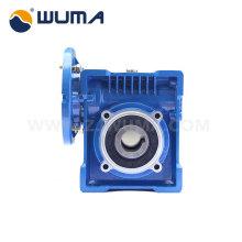 Motor de caja de engranajes de reducción de gusano 0.09 ~ 22KW eléctrico