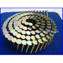 15 Degree Smooth, Screw, Ring Coil Roofing Nail