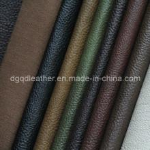 Alta qualidade respirável couro móveis pu (qdl-fb0008)
