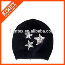 Зимняя мода вязания крючком ребенка шапки и шляпы