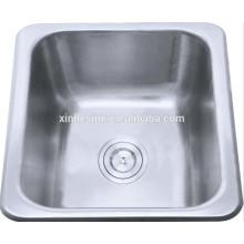 14 inch 18/8 304 Stainless Steel Topmount Kitchen sinks for Bar