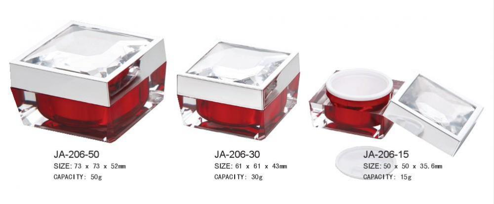 Cosmetic Containers Acrylic Jar