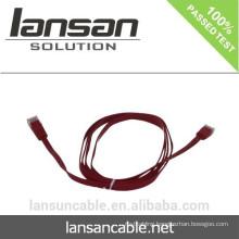 CAT6 Flex Cable With RJ45 Connector Optional Colors