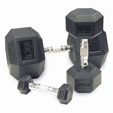 Commercial Fitness Dumbbell Set China Wholesale Hex PU Gym Dumbbell
