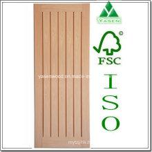 Interior Vertical Panel Hotsale Wooden Oak Door