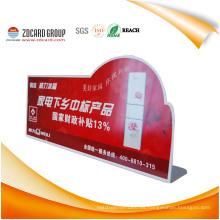 Señal de advertencia del PVC del OEM / tarjeta de aviso / tablero de anuncios del PVC