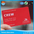 Carte de membre en plastique de carte magnétique de carte de PVC