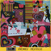 young fashion cotton fabric for bags tablecloth hangers