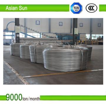 IEC genehmigte 1350 Typ 9,5 mm Aluminiumstange für Drahtziehen