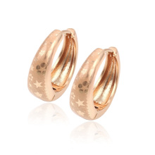 29323-Xuping Jewelry Fashion Hot Sale Huggies Earring With 18k Gold Plated