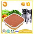Fabricante ventas sabor de pollo al por mayor comida de gato enlatada