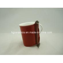 Sublimation Mug Wrap, 10oz Fine Bone China Becher Wrap