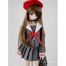 BJD Girl Red Beret Hut für SD Größe