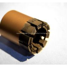 Алмазное корончатое сверло с пропиткой PQ HQ с проволочной пропиткой