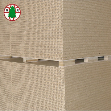 1220x2000mm E1 Grade Vertical Hollow Particle Board