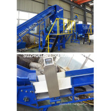 Waste Plastic Recycling Line PE Film Washing Production Line