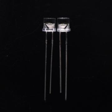 5mm Flashing LED Rote LED Flat Top Objektiv