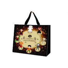 Hot sale new design lamaintion Halloween shopping non woven bag