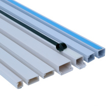 PVC Square White PVC Trunking 10X10 and 16X16 and 25X25