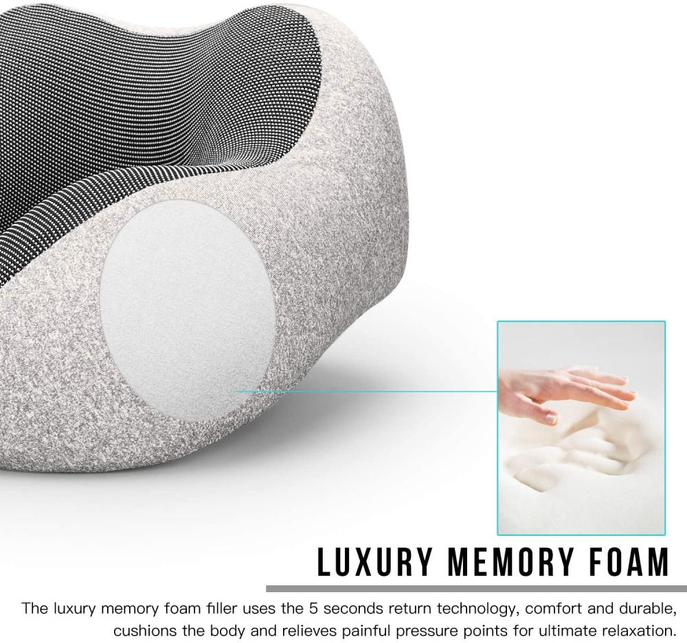 Memory Foam Pillow With Neck Support